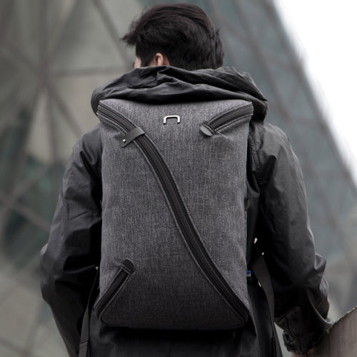 Laptop Bag Sling Backpack - Uno 2 Black