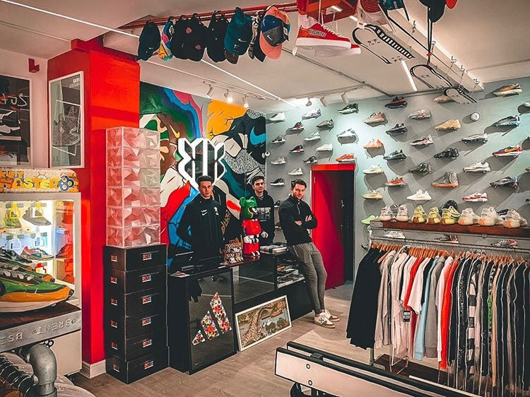 RCKZ Sneakerbox at Kershkicks, Manchester, UK