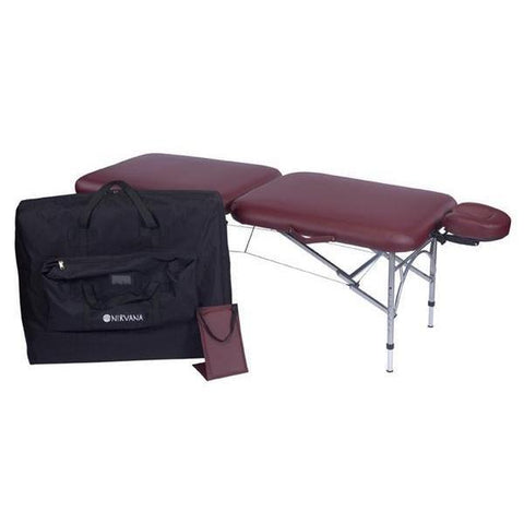 nirvana dharma super lite portable massage table package for sale