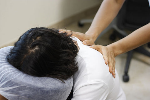 corporate chair massage therapy, a great way to grow your clientele