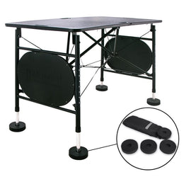 Mars Sports Treatment Portable Massage Table - by Master Massage - Black Color