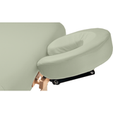 Signature Spa Series Hands Free Lift Back Electric Table - Custom Craftworks deluxe headrest