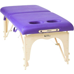 Athena Portable Massage Table With Breast Recess - Custom Craftworks
