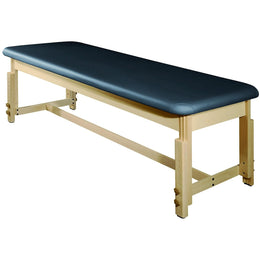 "Harvey Treatment 28"" Stationary Massage Table - MT Massage Tables Blue"