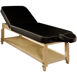 Harvey Tilt Stationary Massage Table - MT Massage Tables Black