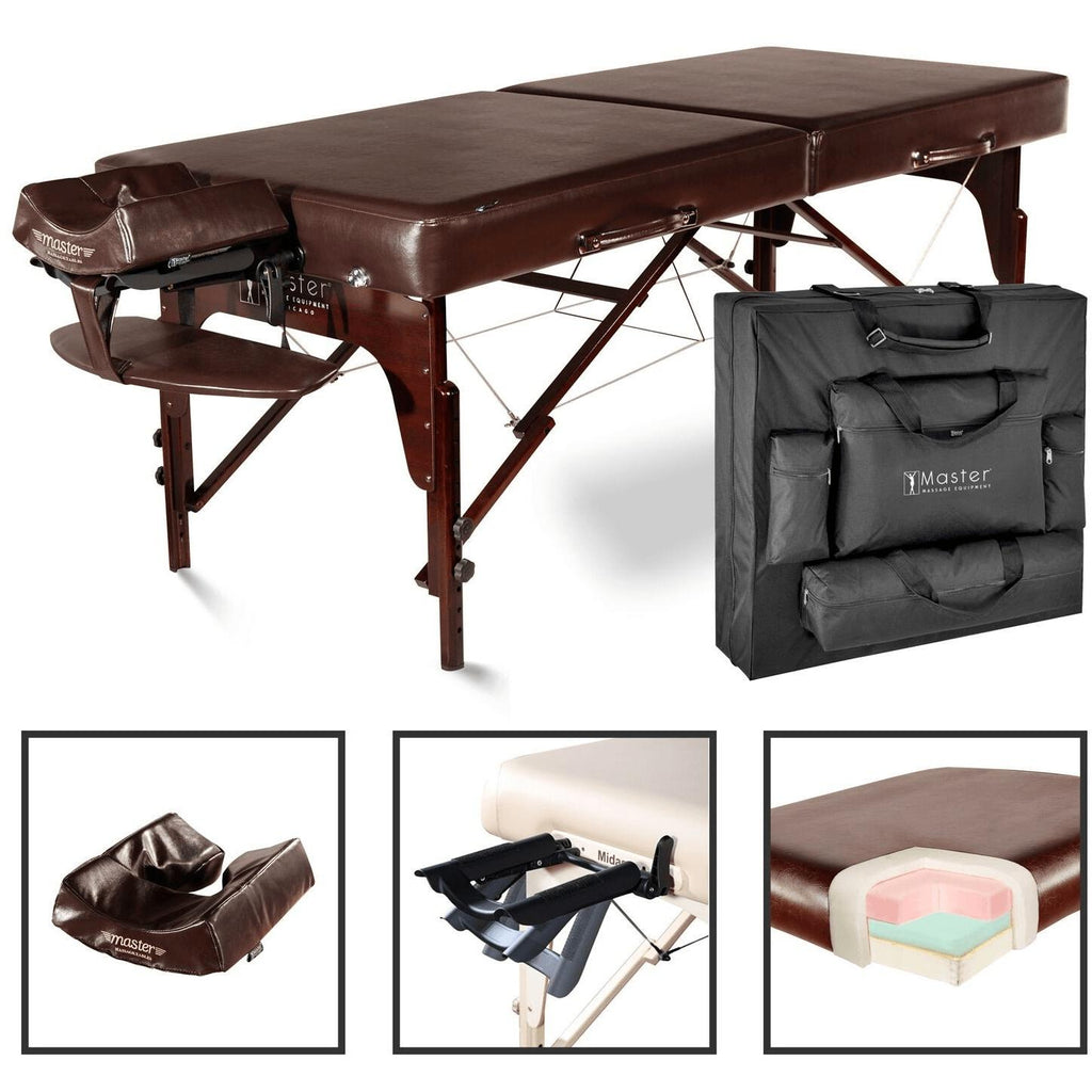 Master Massage Carlyle Portable Massage Table