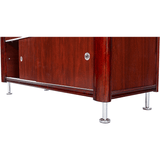 E100 Deluxe Electric Spa Table - Storage Cabinet In Base - by Custom Craftworks