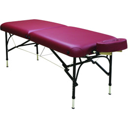 Challenger Aluminum Portable Massage Table - Custom Craftworks
