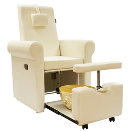 LUMINA Pipeless Pedicure Spa Chair - No Plumbing or Complicated Installation Needed - by USA Salon & Spa