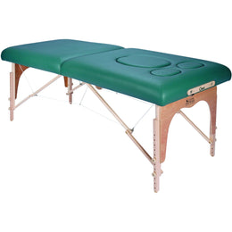 Omni Portable Massage Table with Pre Natal Feature by Custom Craftworks