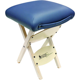 Solutions Wooden Folding Stool - Custom Craftworks