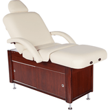 e100 electric spa bed by custom craftwork with lift back