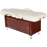 e100 electric stationary massage table by custom craftwork - flat view