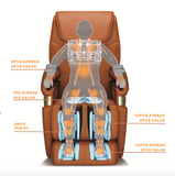 IC6600 Massage Chair - iComfort features