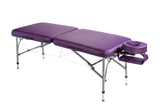 Nirvana Dharma super lite massage table in purple