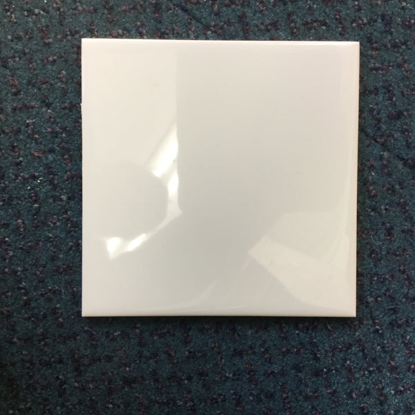 FL0053 - white square tiles