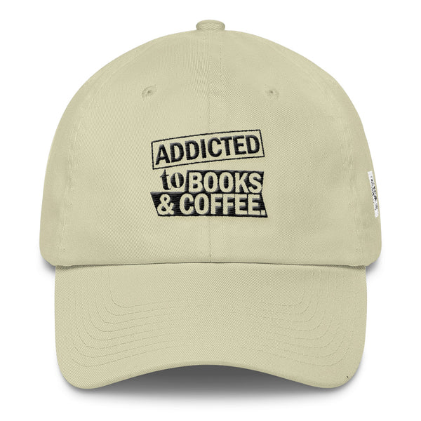 Addicted to Books and Coffee Hat