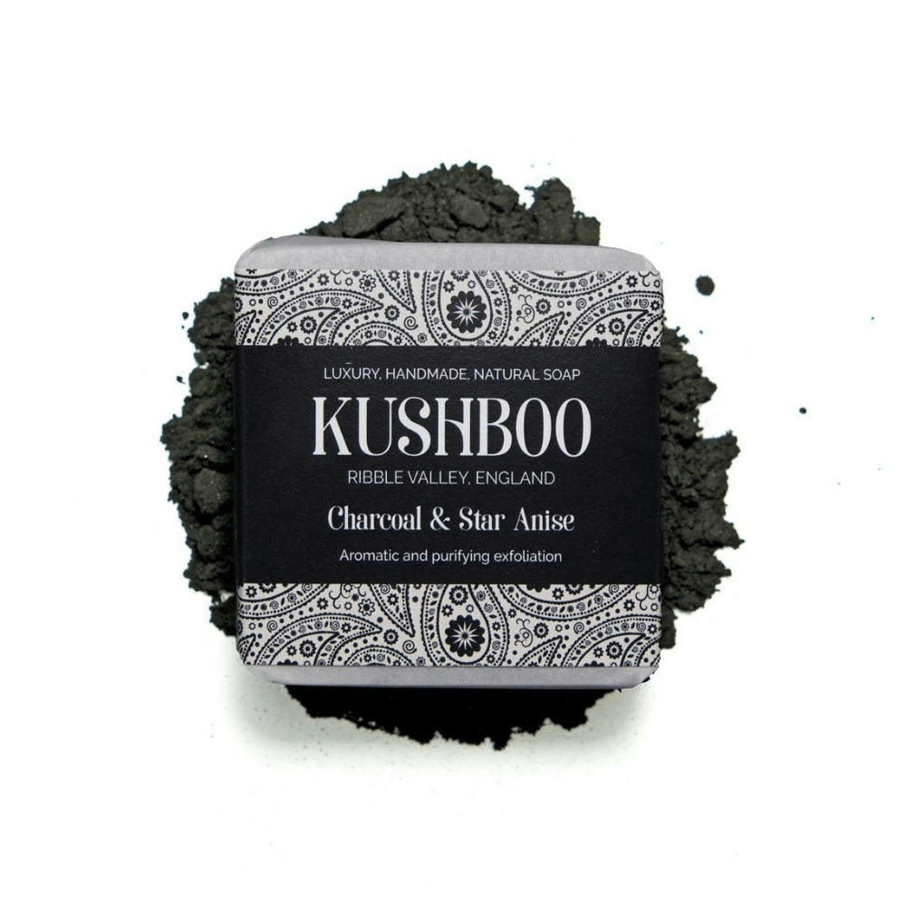 Charcoal and Star Anise Soap