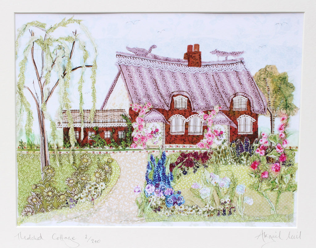 Thatched Cottage Giclee Print