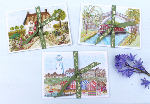 Set of 5 Countryside Postcards