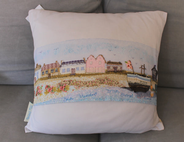 Aldeburgh Fishing Boat - Cushion cover