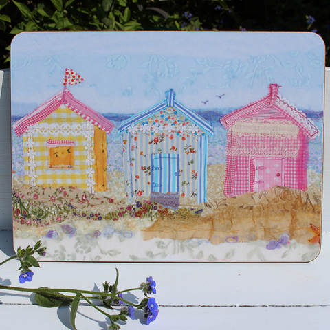 Beach Hut Placemat