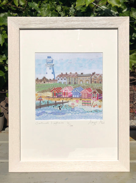 Framed Southwold Lighthouse Print