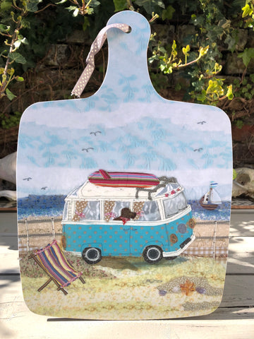 Large Chopping board - Surf Campervan