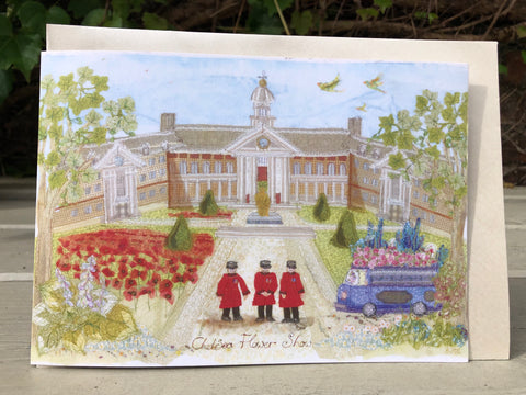 Royal Hospital and Chelsea Flower show card