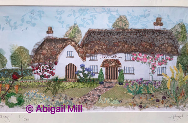 Rose Cottage - Landscape Print