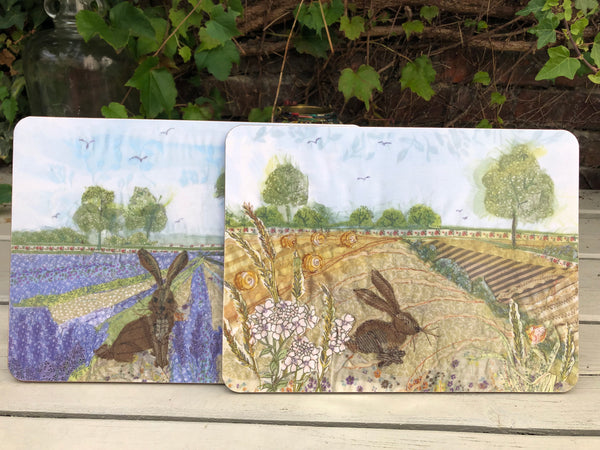 Lavender Hare Placemat