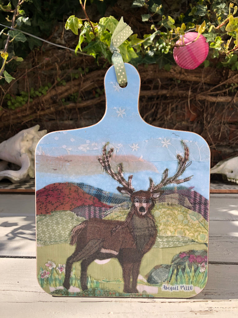 Stag Little Chopping Board