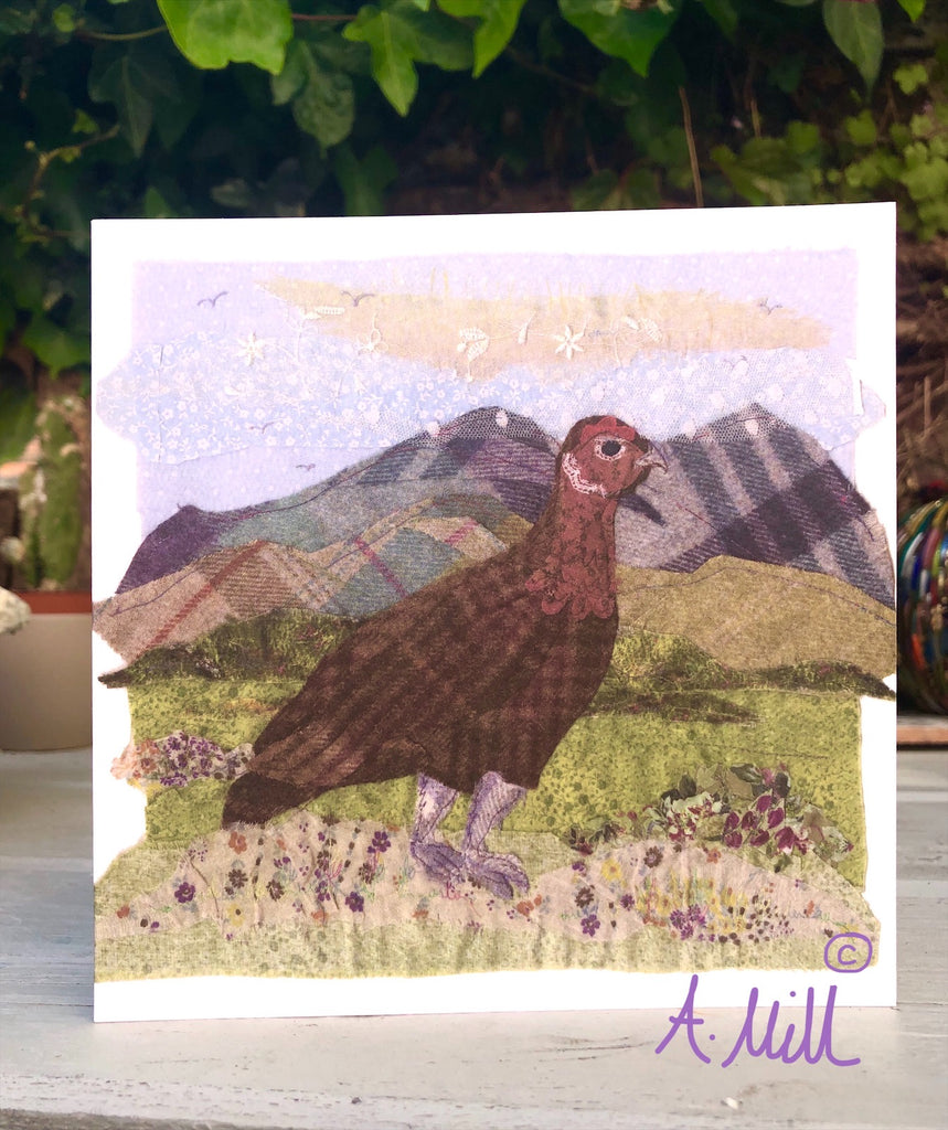Grouse Greetings card