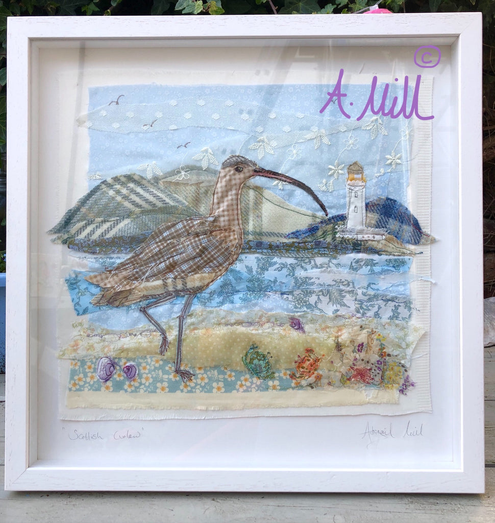 Scottish Curlew- Framed