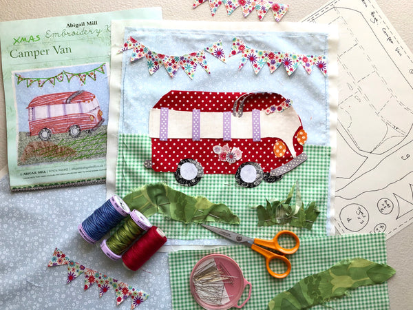 Campervan Kit- Red Polka dot