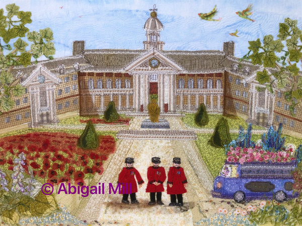 Royal Hospital and Chelsea Flower Show Giclee Print