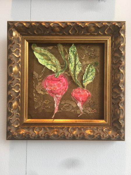 Baroque small Radish embroidery