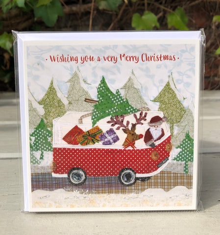 Santavan Christmas Card Pack