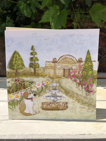 Rose Garden Greetings card