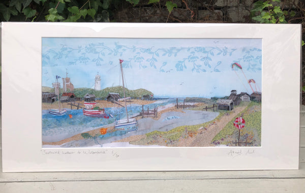 Southwold Harbour to Walberswick - Landscape Print