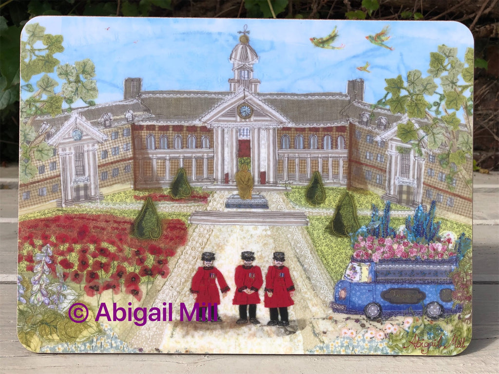 Royal Hospital & RHS Chelsea Flower Show  Placemat