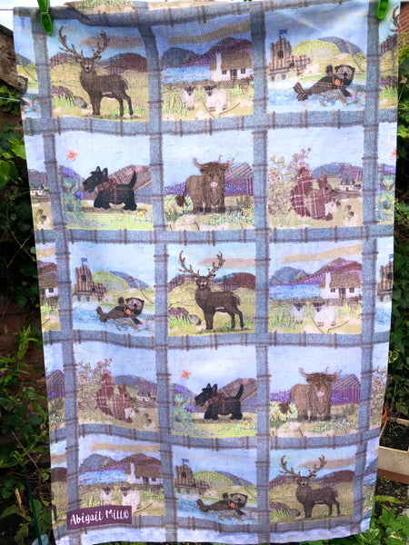 Tweedies Tea Towel