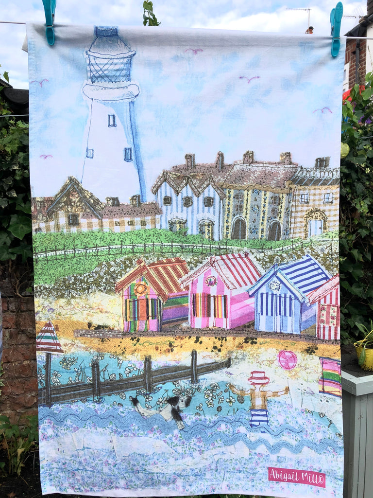 Southwold Lighthouse Tea Towel