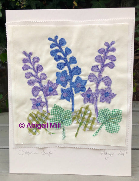 Delphinium Sewing Kit