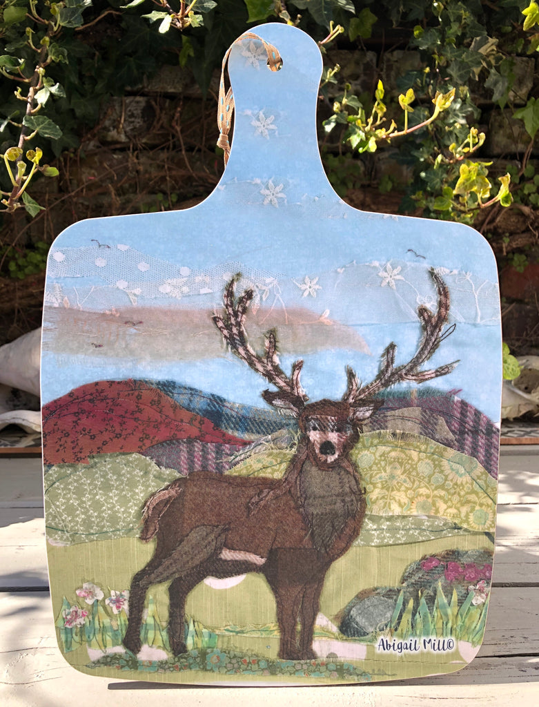 Stag Large Chopping board