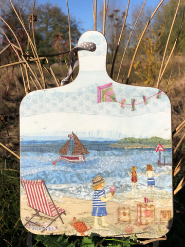 Summertime in Wells- Little Chopping Board