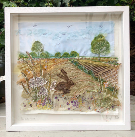 Harvest Hare - Framed
