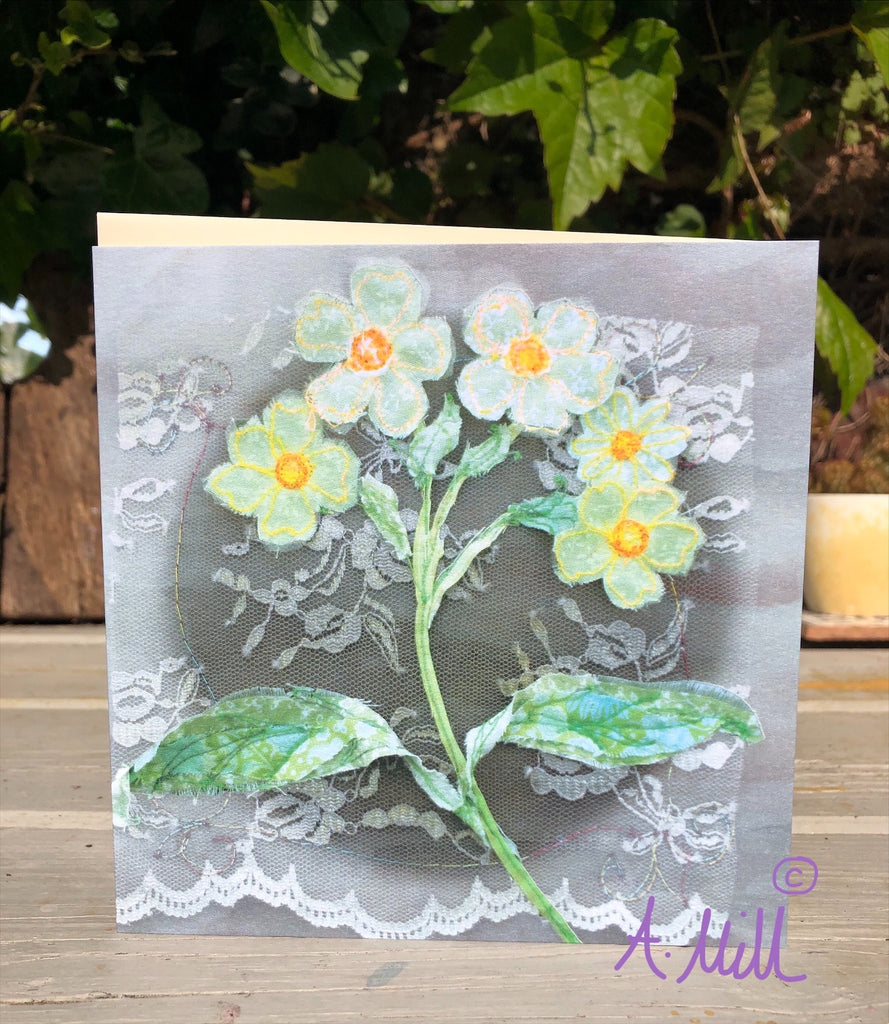 Chamomile Greetings card