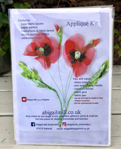 Poppies Sewing Kit