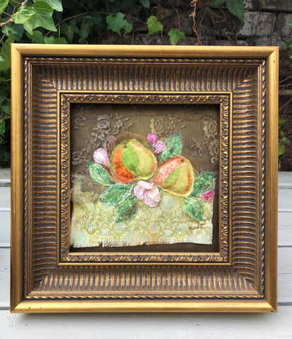 Baroque Apples embroidery
